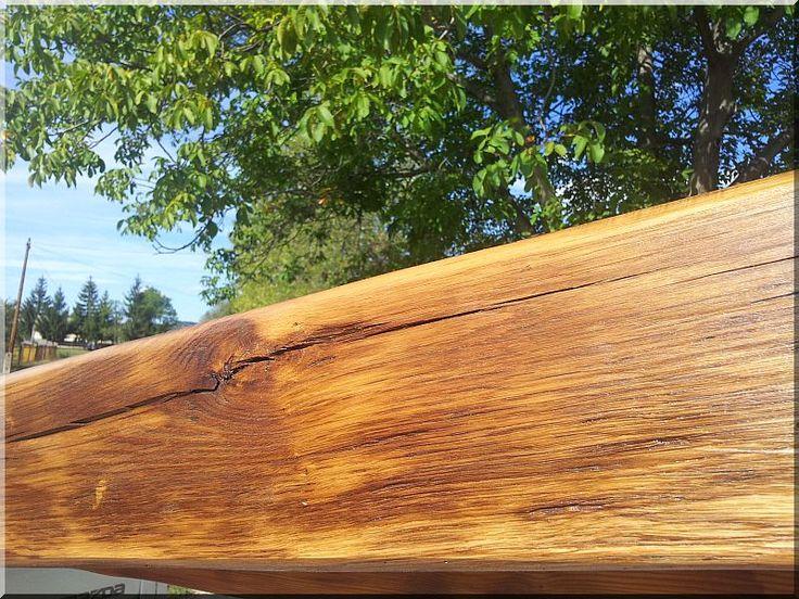 Felújított öreg tölgyfa gerenda