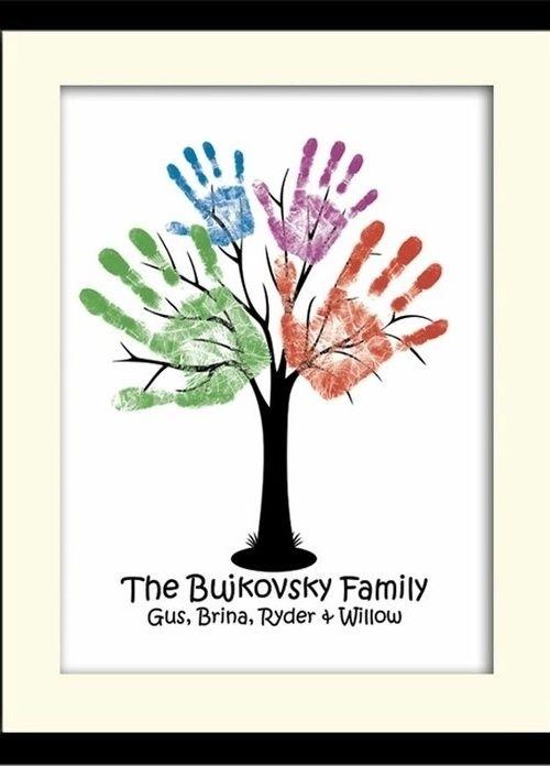 Handprint - Ideias de decoração que une a família!