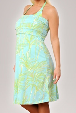 can you wear a maternity coverup w/o being pregnant? I love this one!!      lilly pulitzer pleated maternity swim cover-up