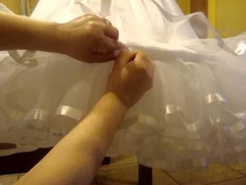 Falso para Vestidos de Huasa Todas las Tallas - YouTube