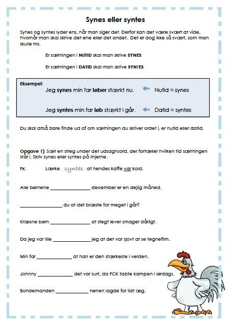 Ordklasser og grammatik