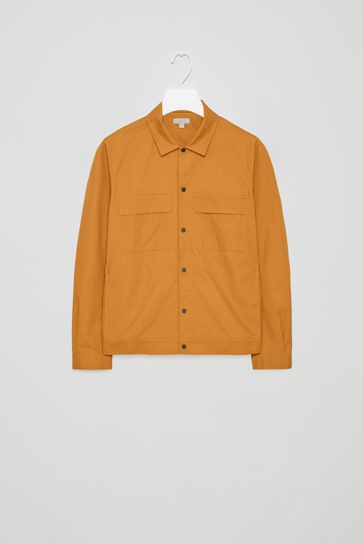 COS | Cotton shirt jacket with pockets