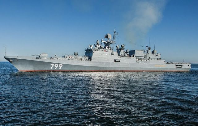 Military and Commercial Technology: Russian Ministry of Defense: Black Sea fleet will receive new frigate Admiral Makarov equipped with cruise missiles