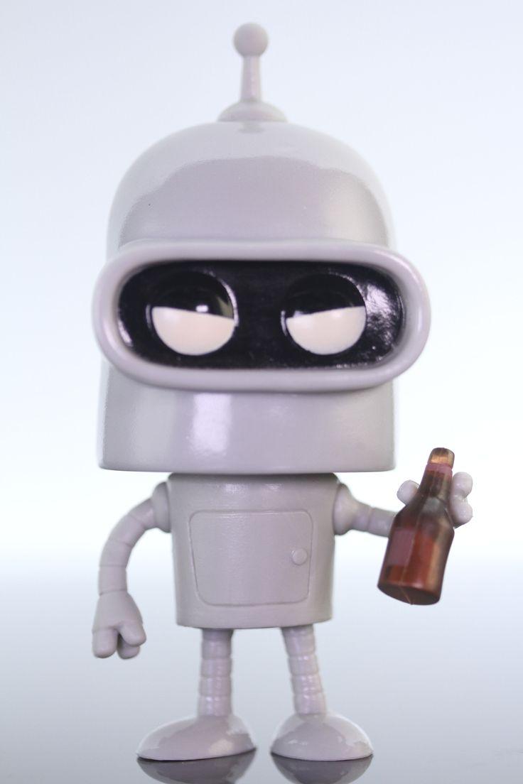 Funko Pop Animation, Futurama, Bender #29