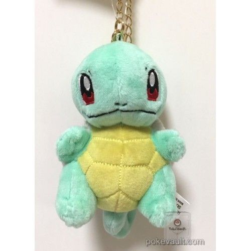 Pokemon 2017 San-Ei All Star Collection Squirtle Mascot Plush Keychain