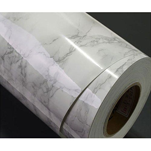 Grey Granite Look Marble Effect Contact Paper Film Vinyl