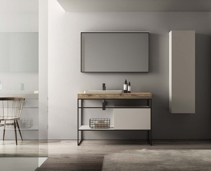 The new modular Dogma collection from Alternative Bathrooms melds Italian style with a Zen-like focus on harmony and balance.   An extensive system of beautiful basins, cabinetry and storage offers interchangeable elements in a wide range of sizes, materials and colour options. These allow completely individual set-ups to be designed. Natural materials abound in the collection, including metal, timber, porcelain and marble.