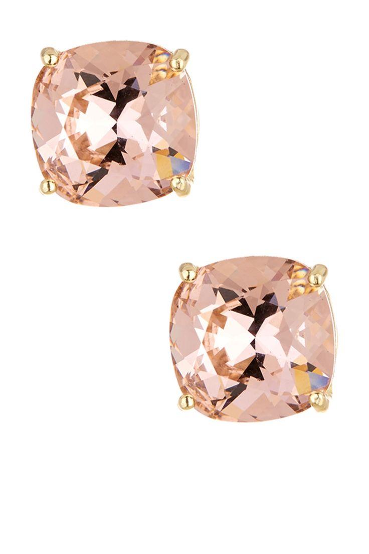Candela | Rose Swarovski Crystal Stud Earrings | Nordstrom Rack