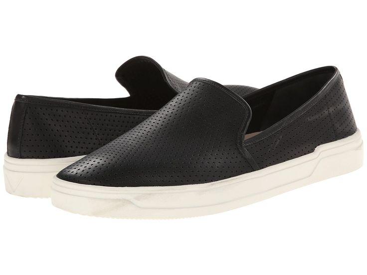 Via Spiga Galea 5 Women's Slip on Shoes Black Modena Calf Perf
