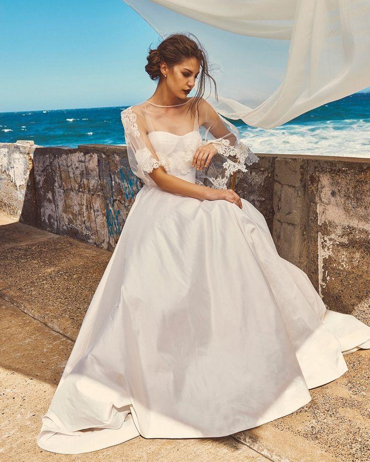"Elbeth Gillis 2017 Wedding Dress ""Milk and Honey"" Bridal seperates collection…"