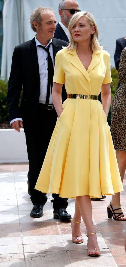 Kirsten Dunst et Arnaud Desplechin à Cannes