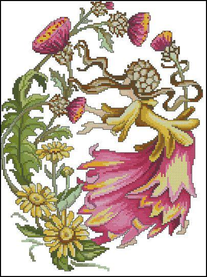 Hadas de las Flores - Octubre