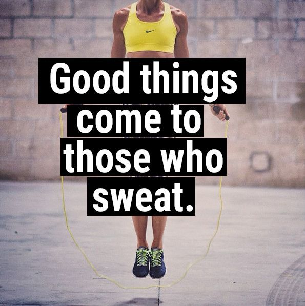 Goof things come to those who sweat, Nike workout clothes, fitspiration, training quotes, motivation.
