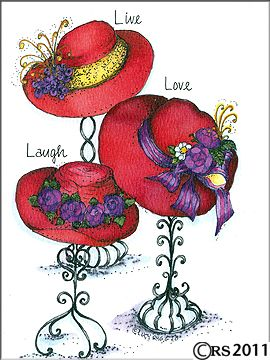 Image result for red hat society images