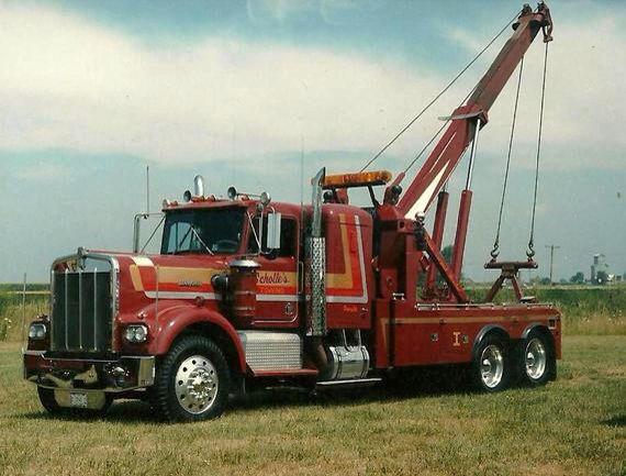 Scholle's Towing, Peru IL - Kenworth w/ Holmes 1801 | Cool Tow Trucks | Pinterest | Peru