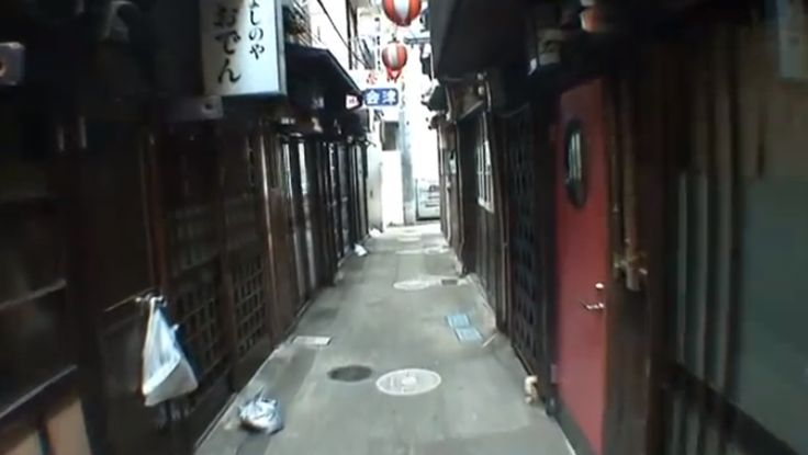 Filthy Alley in Kabukicho