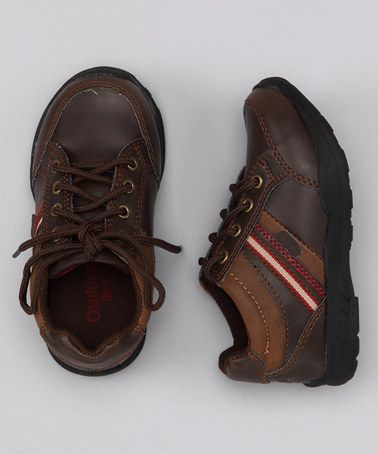 Take a look at this OshKosh B'gosh Dark Brown Harry Shoe by Toe-to-Toe: Kids' Shoes on #zulily today!
