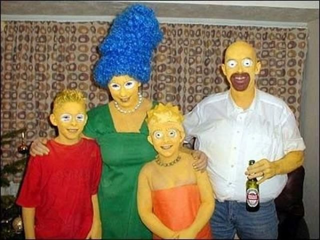 The Simpsons family!