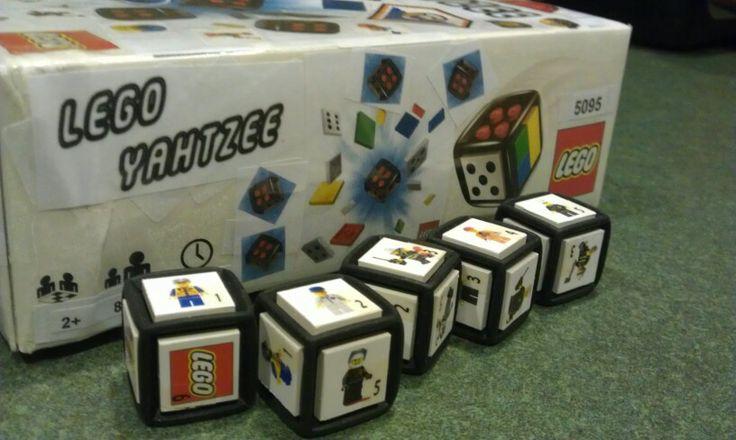 Lego yahtzee, now your on a roll with bricks