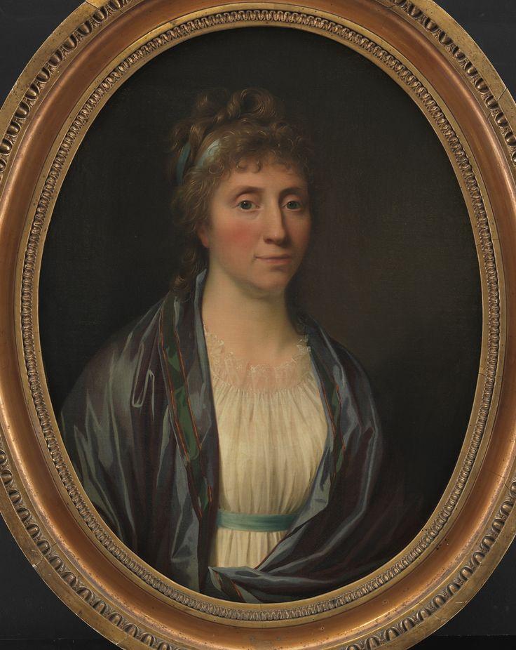 Jens Juel Danish, Dameportræt, 1790-1799 TECHNIQUE Oil on canvas REFERENCE KMS247