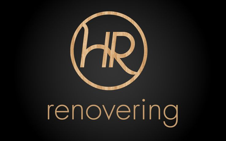 A clean and simple logo design for a house renovating company located in Sweden