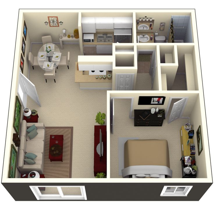 One Bedroom Apartments Tampa: Pin By Marianne B On Annexes For The Garden