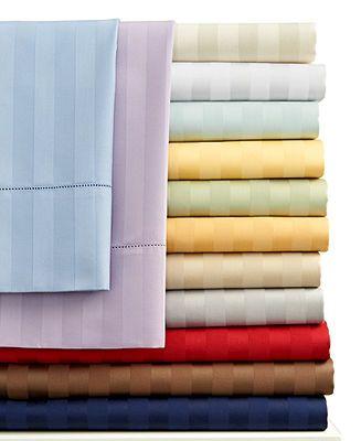 Charter Club Damask Stripe 500 Thread Count Sheet Sets