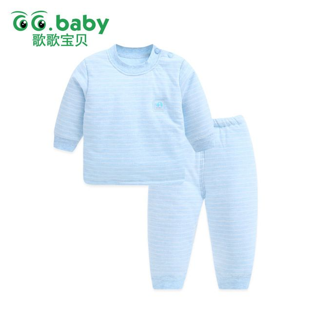 27a18066826f Warm Newborn Baby Boy Outfit Winter Baby Boys Clothes Pants Set Long ...