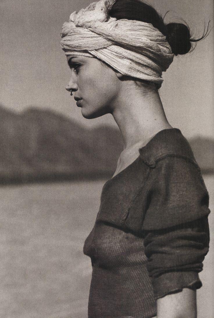 Elle Quebec, March 1994  photographer: Serge Barbeau  Sybil Buck