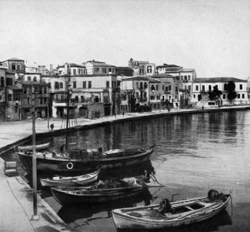 """Photo from """"The Stronghold: Four Seasons in the White Mountains of Crete"""" by Xan Fielding (1953; 2013, Paul Dry Books edition) http://www.pauldrybooks.com/products/the-stronghold"""