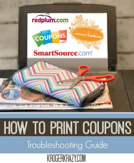 ** Beginners Guide: How to Print Coupons**  Trying to print all those HOT coupons, but you just can't get it to work? Check out this tutorial. #coupons #kroger