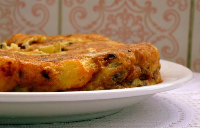 Pitadinha: Omelete espanhola - outra versão