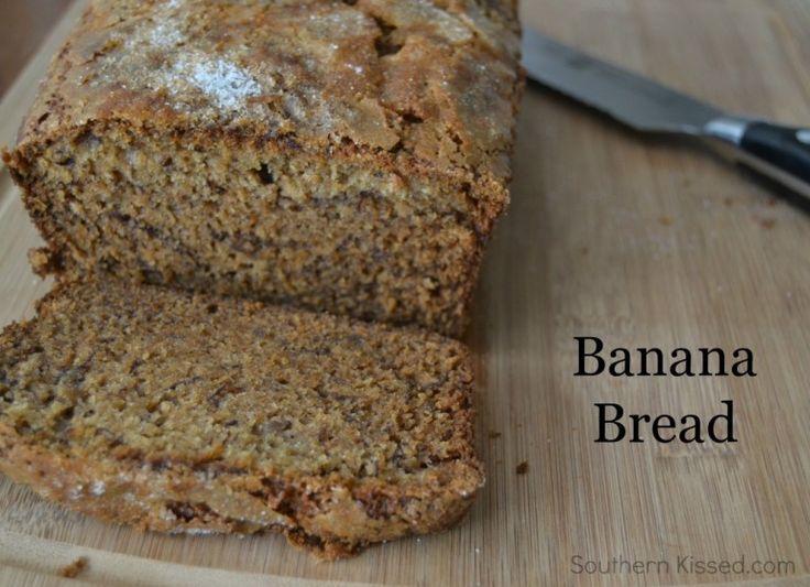 Banana Bread - easy quik bread recipe with a twist