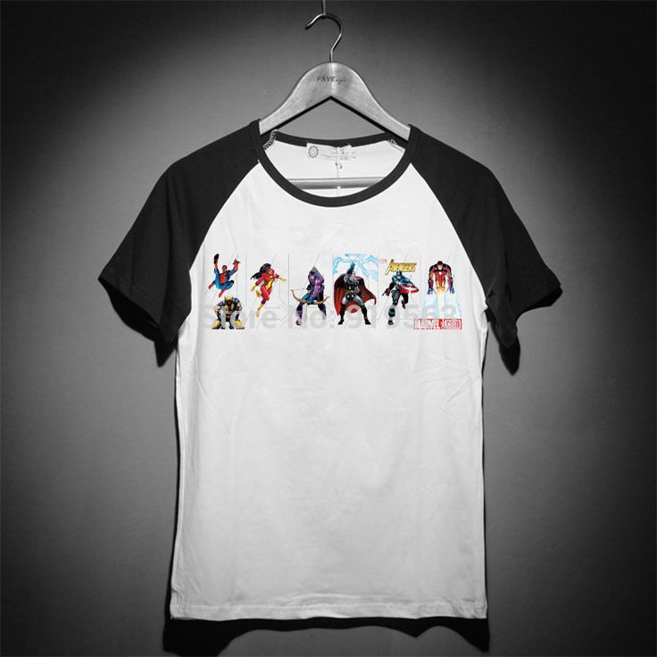 avengers classic comics men women kids modal cotton baseball style t shirt  Instanations.com #