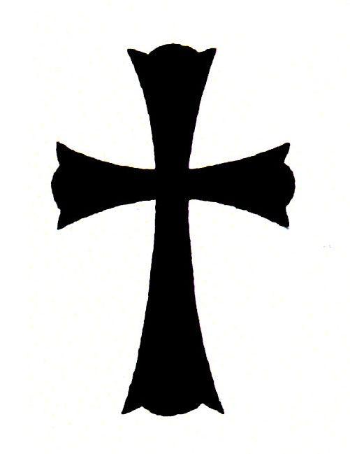 Solid Black Cross Tattoo | Free Design Ideas