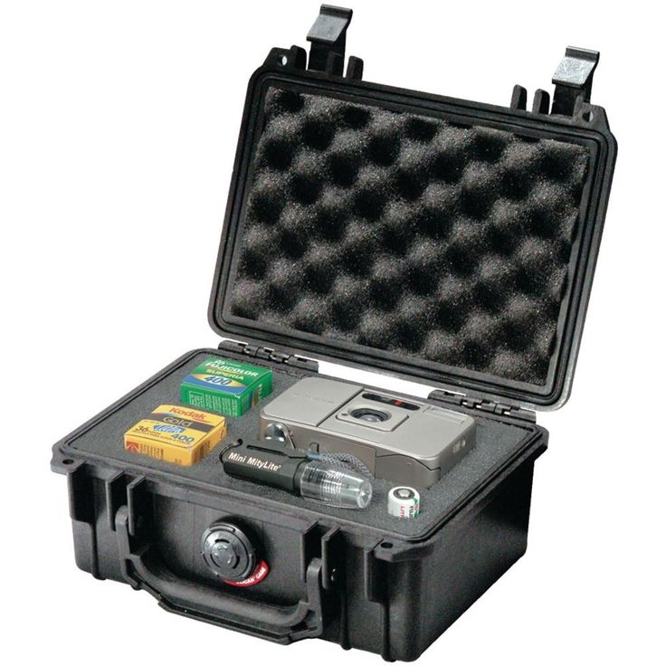 Pelican 1120 Protector Case With Pick N Pluck Foam