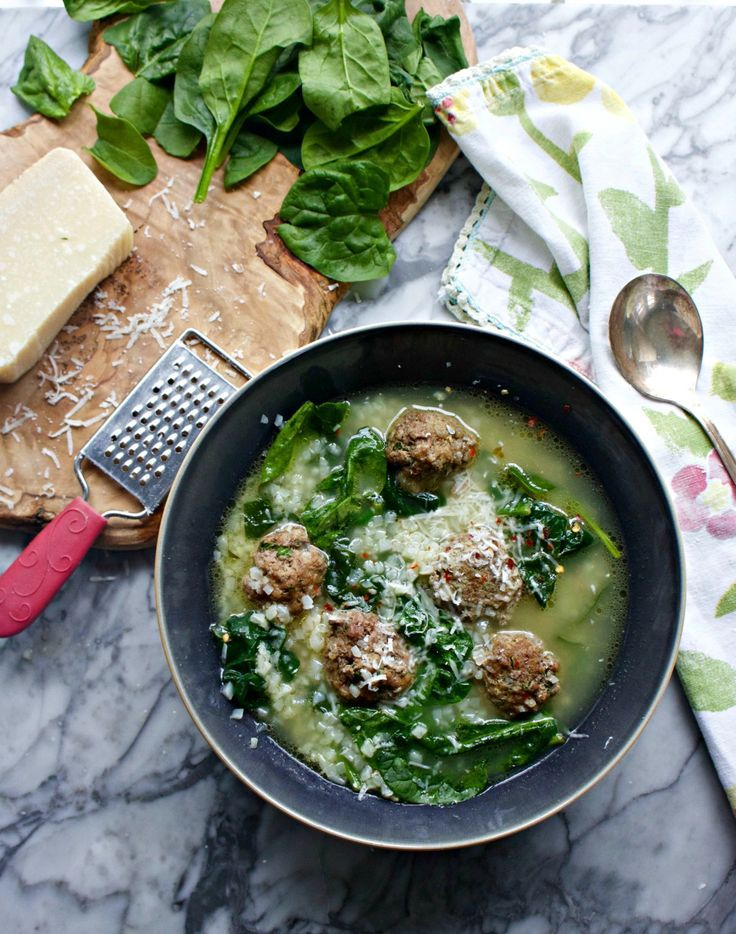 Big Fat Healthy Italian Wedding Soup Recipe With Proscuitto