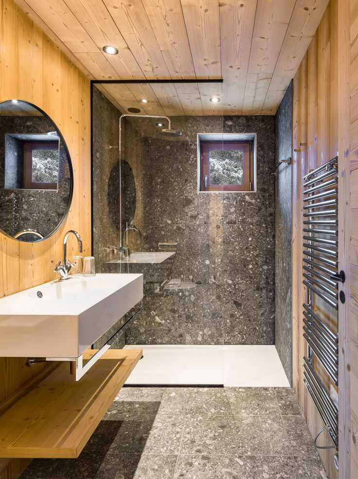 Best 25 Rustic Modern Bathrooms Ideas On Pinterest