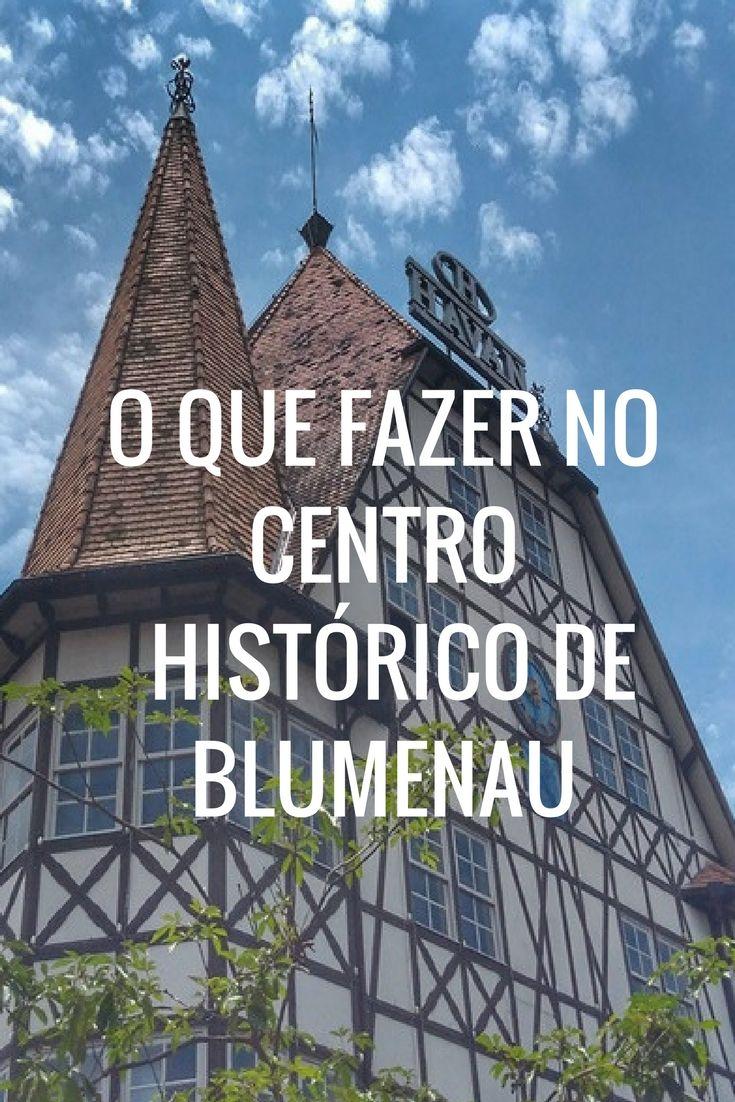 Apesar de ser lembrada pela Oktoberfest, Blumenau oferece muita atrações para serem aproveitadas, sem pagar nada, muitas delas localizadas no centro histórico. As atrações incluem museus, centros culturais, igrejas, monumentos, prédio históricos e muito mais.