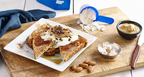 Prova questi deliziosi french toast alla cannella. Scopri la ricetta su The Zone!