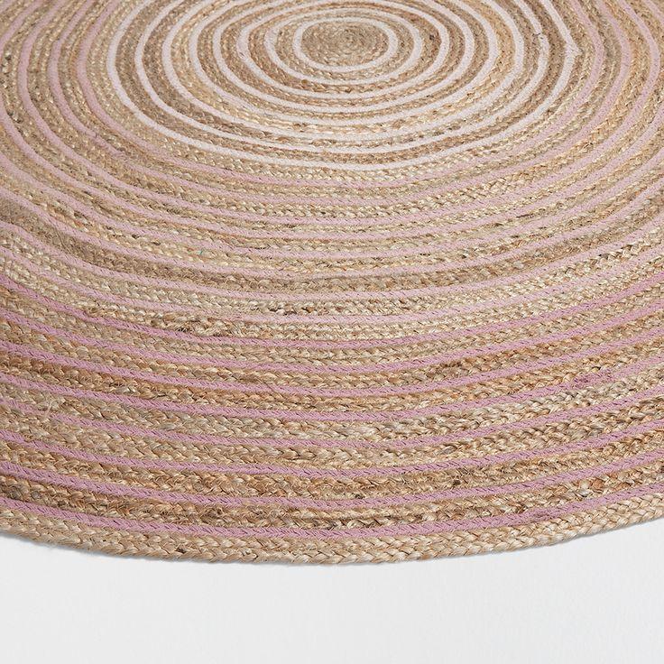 ROND JUTE TAPIJT - Tapijten - Decoratie | Zara Home  Netherlands Nadeel niet heel zacht