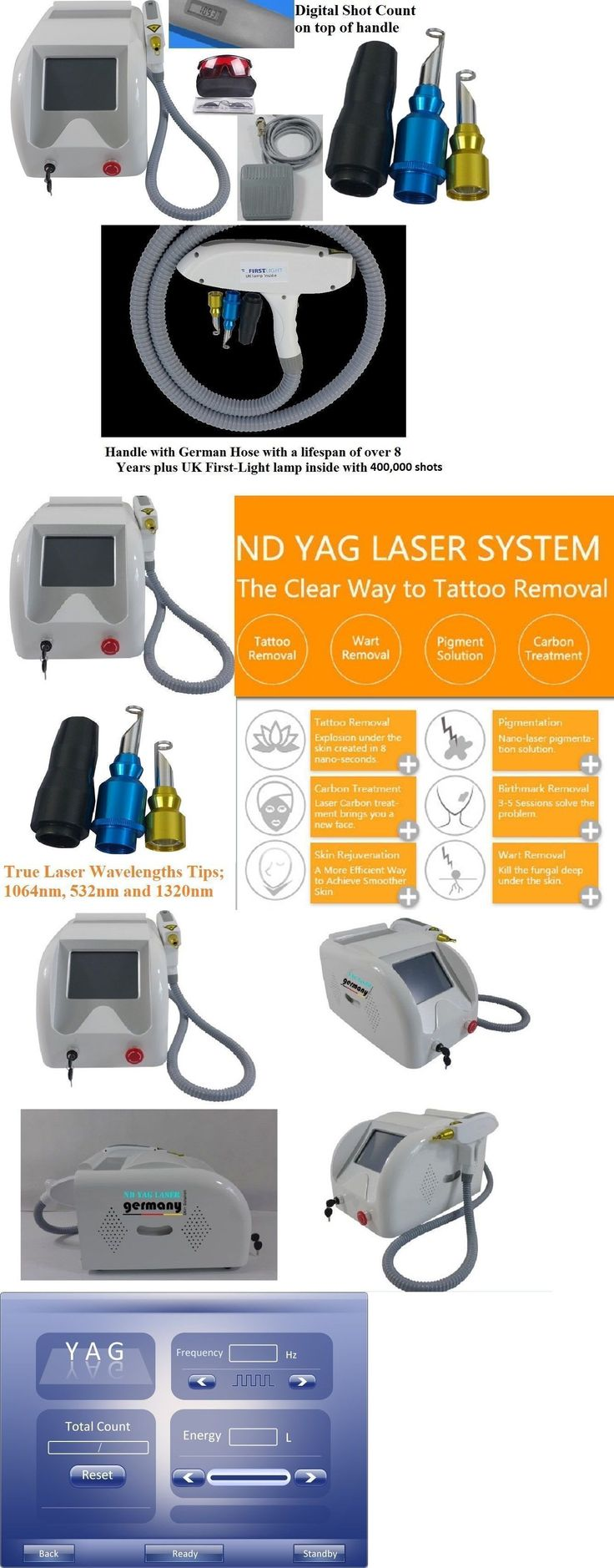 Tattoo Removal – Tattoo Removal Machines: German Laser Technology-Tattoo Removal Skin Rejuvenation Q-Switch Nd Yag 3 Tips -> BUY IT NOW ONLY: $2000 on eBay! – Quick and Easy Natural Methods & Secrets to Eliminating the Unwanted Tattoo That You've Been Regretting for a Long Time #removetattoos