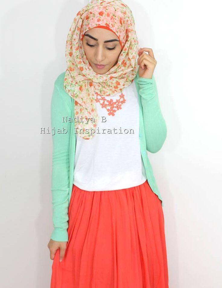 Nadiya B - Hijab Inspiration https://www.facebook.com/NadiyaBHijab