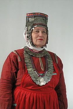 Chuvash - Russia headdress is Levantine