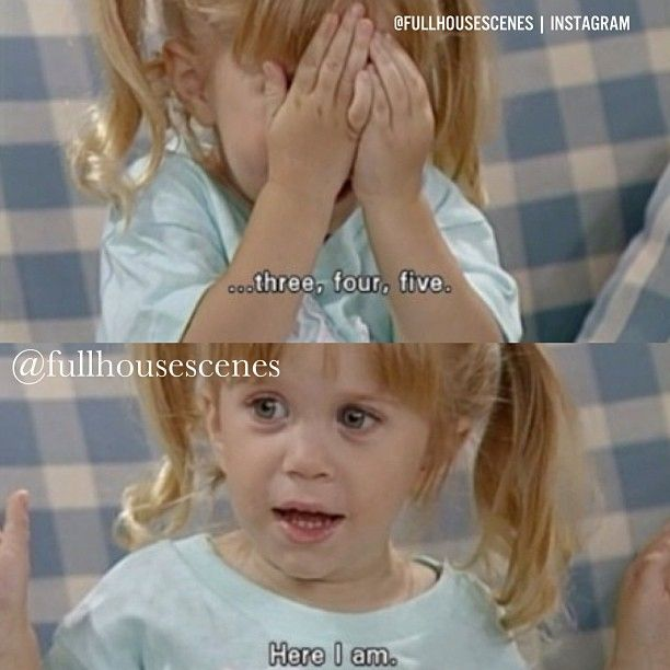 """Here I am"" ~ Michelle, Full House - Quotes #fullhouse #fullhousetvquotes"