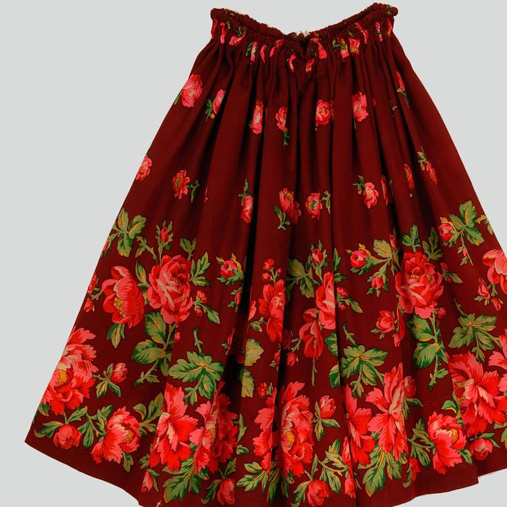 Skirt of the folk costume from Leśnica, Podhale region, Poland, c. 1935.