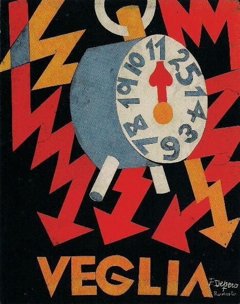 Fortunato Depero, Italian Futurism.