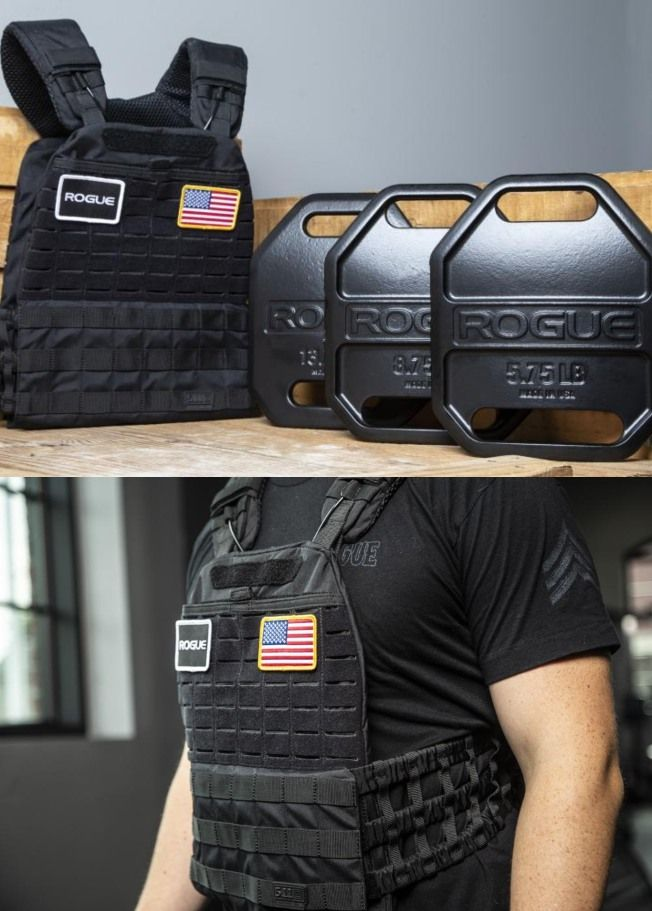 Rogue usa cast weight vest plates for strength training top
