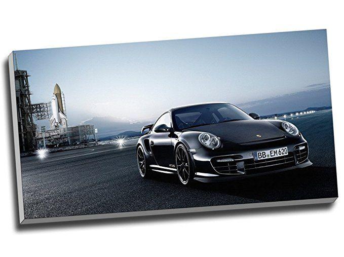 Porsche 911 Gt2 Rs Sport Auto Wall Art Print Auf Leinwand Bild