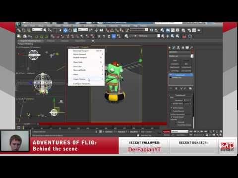 #25. Flig vs Black gang: Animations in 3ds max #twitch #indie #indiedev #gamedev #aoflig #fligadventures #adventuresofflig #flig